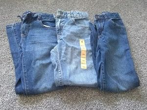 Boys size 7 jeans lot